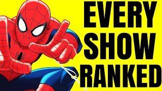 Schlechtesten - Jeder Spider-Man-Cartoon Rangiert