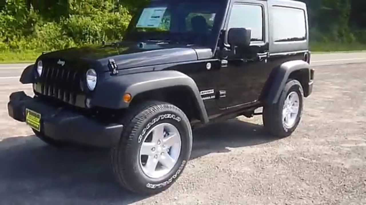 2015 jeep wrangler sport 4x4 suv youtube. Black Bedroom Furniture Sets. Home Design Ideas