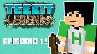 Tekkit Legends | Será essa a nova série do canal ? | #1