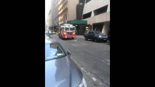 FDNY engine 65 drive by with bell