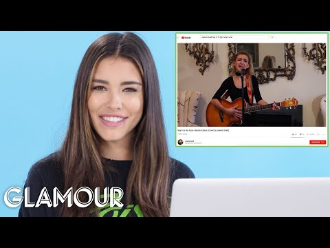 Madison Beer Watches Fan Covers On YouTube | You Sang My Son