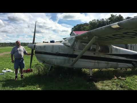 1958 Cessna 175 Relocation Project - YouTube