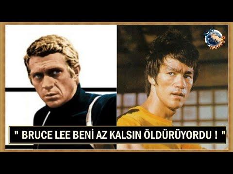 Steve Mcqueen: Bruce Lee Beni Nerdeyse Öldürüyordu!
