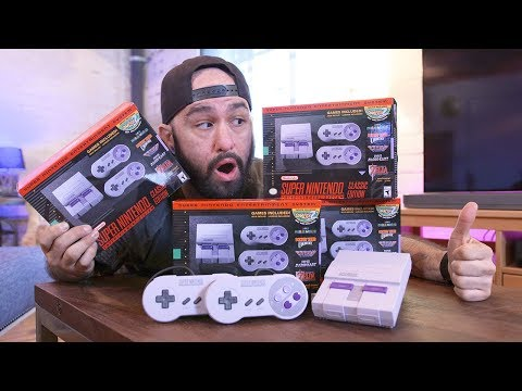 Download Youtube: Super NES Classic Unboxing & Review!