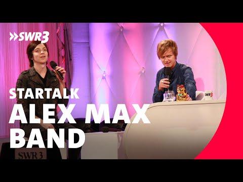 Interview und Preisübergabe Alex Max Band beim SWR3 New Pop Festival 2010
