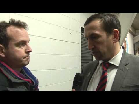 Justin Edinburgh post match iv Hartlepool A 15Feb14