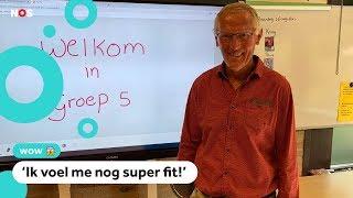 Meester Jan is 75 jaar en geeft nog steeds les