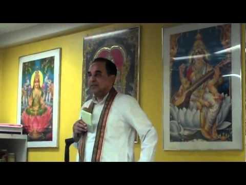 Dr. Subramanian Swamy Talks on Bhagavad Gita (full)