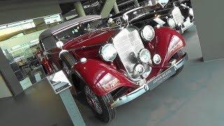 Mercedes-Benz 320 Convertible B 1937 (W142) - Motorworld Böblingen