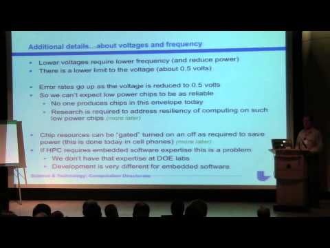 2013 Keynote: Dan Quinlan: C++ Use in High Performance Computing Within  DOE: Past and Future