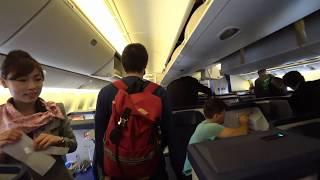 [4K] 20181007 飛機起飛  全日空ANA NH09便 紐約JFK甘迺迪機場 飛往成田機場Boeing 777-300ER