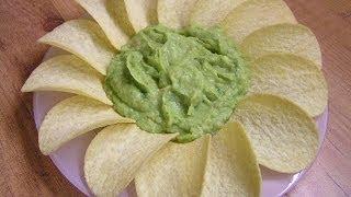 Соус гуакамоле мексиканский из авокадо - видео рецепт