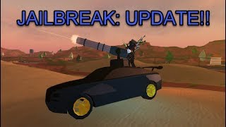 Roblox Jailbreak: CrimeBoss Update!!