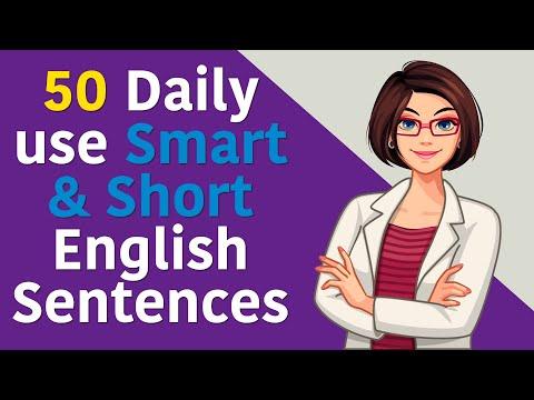 50 Daily use Smart \u0026 Short English Sentences    50 English Sentences You Can Use Everyday