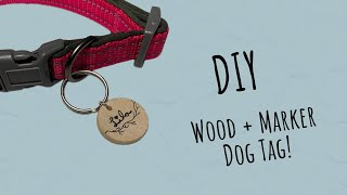 Simple Pet Name Tags Made Easy! | DIY Pet Name Tags