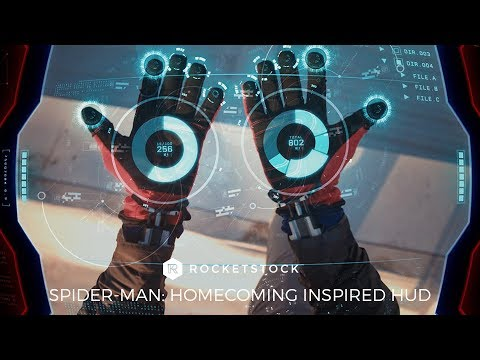 Create A Spider-Man Inspired HUD in After Effects + 12 Free HUD Elements | RocketStock.com
