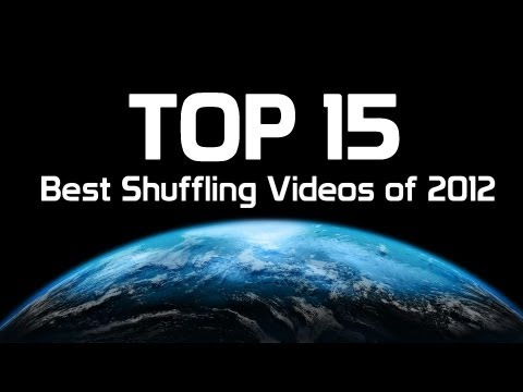 TOP 15  Best Shuffling Videos of 2012.