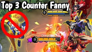 Top 3 Hero Which Can Beat Fanny 1 Vs 1 | Mobile Legends: Bang Bang
