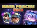 Clash Royale | Najlošije otvaranje? | Odličan Miner Princess Deck