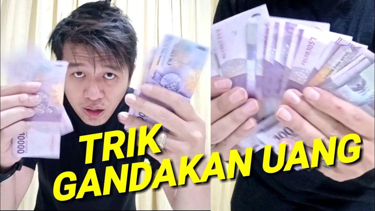 Trik Menggandakan Uang Sulap Rubah Uang Dari 4 Lembar Jadi 25 Lembar Youtube