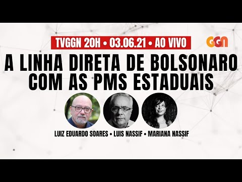 A LINHA DIRETA DE BOLSONARO COM AS POLÍCIAS ESTADUAIS - AO VIVO - 20H - 03/06