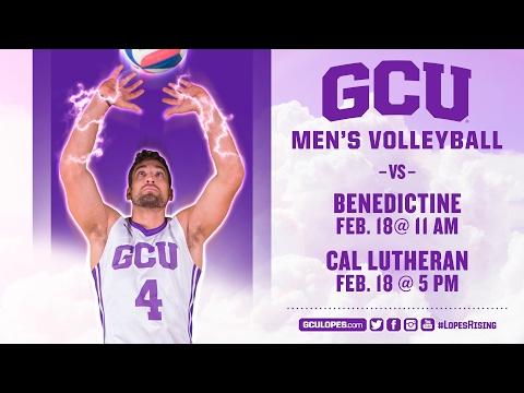 Men's Volleyball vs Benedictine Mesa Feb 18th, 2017