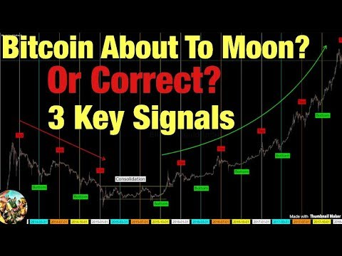 Bitcoin About To Moon OR Correct? 3 Key Signals