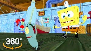 Spongebob Squarepants!  360° Secret Formula?  (The First 3D VR Game Experience!)