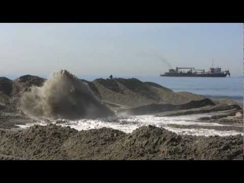 SANDAG Beach Replenishment in Cardiff by the Sea - October 2