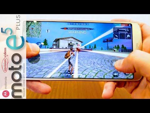 Análisis (Review) MOTOROLA MOTO E5 PLUS