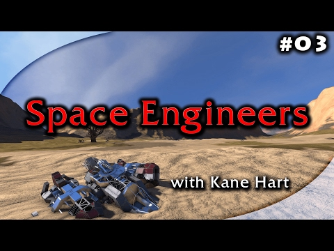 Space Engineers Beta - Part 3 - Building Our First Mining Ship!