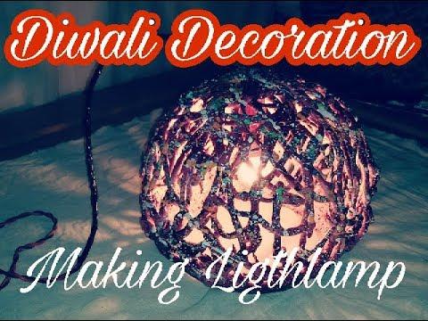 diwali decoration ideas/night lamp decoration by Pawan verma artist