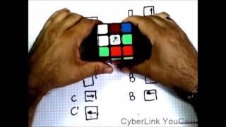 Как собрать кубик Рубика  -1 урок