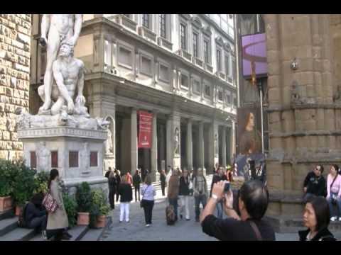 Walking Tour of Florence, Italy