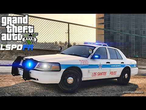 LSPDFR #591 CHICAGO PD PATROL!! (GTA 5 REAL LIFE POLICE PC MOD)