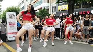 180708 댄스팀 #UA(다이아나_Guest) 05 - What is Love @홍대Busking[직캠,Fancam] by shinlim