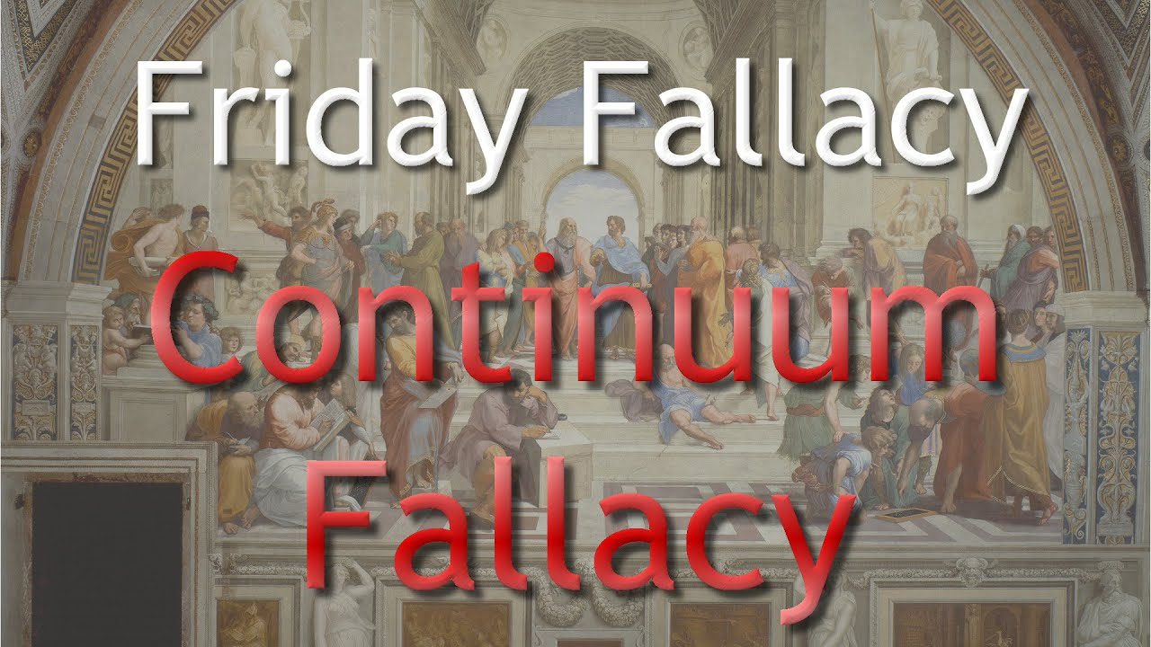 Line Drawing Fallacy : Friday fallacy continuum youtube