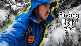 Winter Camping and Finḋing a Plane Crash