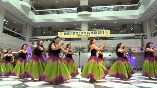 スタジオ メケアロハ‐①/サンシャインシティB1F噴水広場/東京フラフェスタin 池袋2015(二日目)