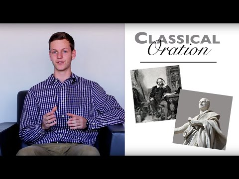 "The ""Classical Oration"" Essay: A How-To"