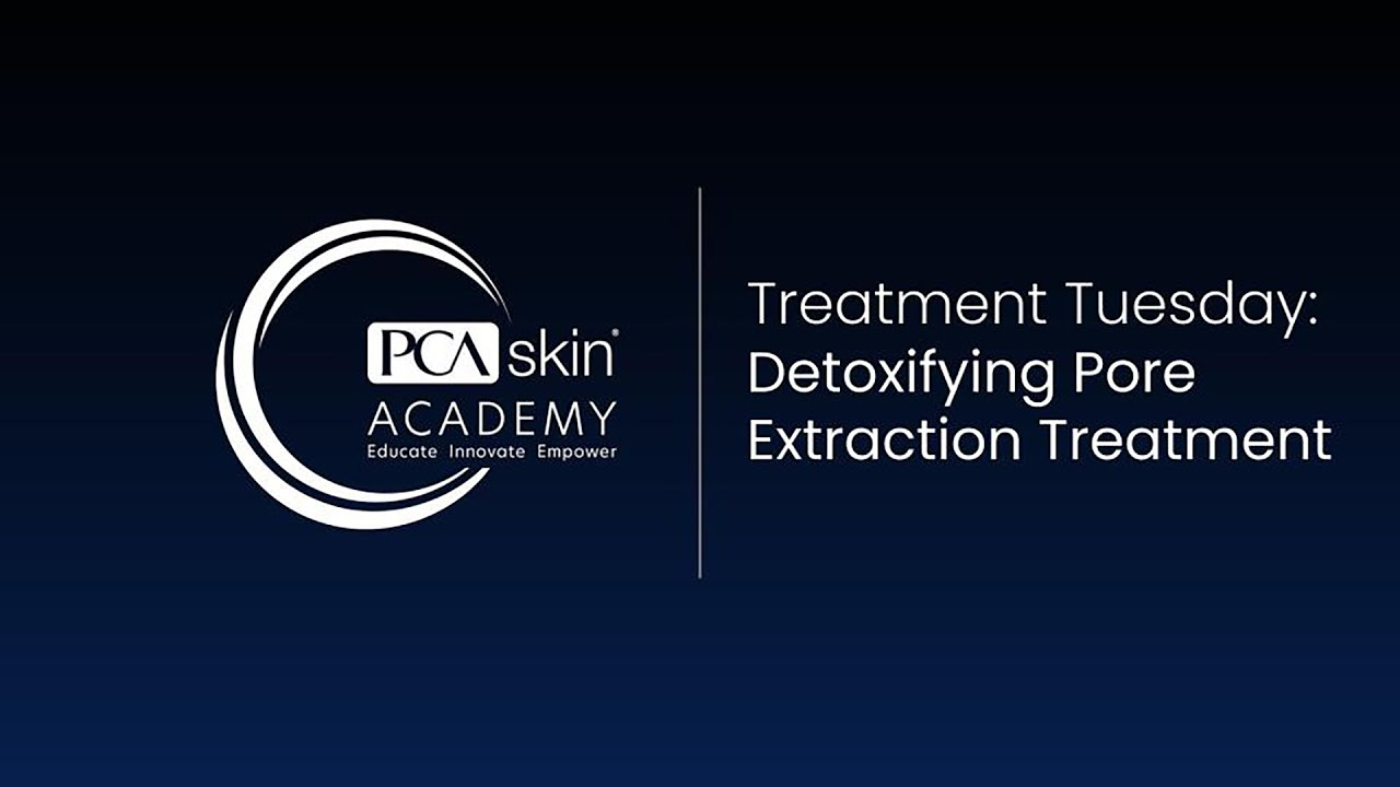 Click to open this video in a pop-up modal: Treatment Tuesday: Detoxifying Deep Pore Treatment