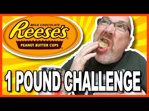 1lb Reese's Peanut Butter Cups Challenge