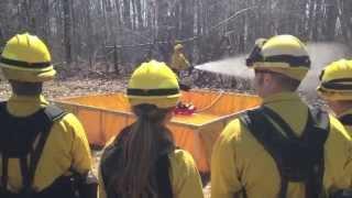 Fort Drum Wildfire Training, Response