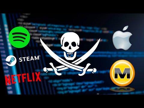 La historia de la Piratería