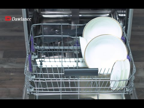 Dawlance Dishwasher comes with 8 different programs! - YouTube