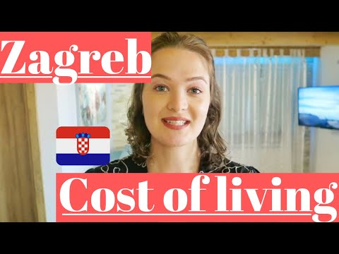 ZAGREB COST OF LIVING | CROATIA | DIGITAL NOMAD