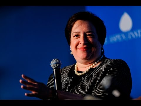 A Conversation with Justice Elena Kagan moderated by Elliot Gerson
