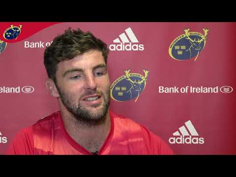 Sean O'Connor & Gavin Coombes Interviews | Munster Rugby Pre-Season Training 2019/20