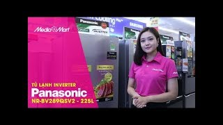 Tủ lạnh Panasonic NR-BV289QSV2 - 255 Lít Inverter - Cấp đông mềm tiện lợi