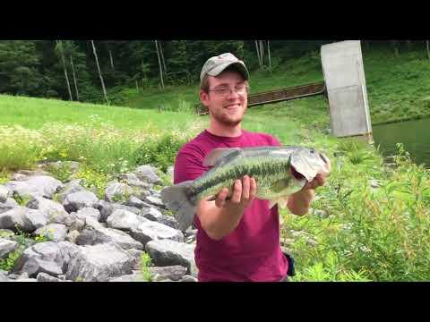 5lb Bass Lyman Lake Pennsylvania
